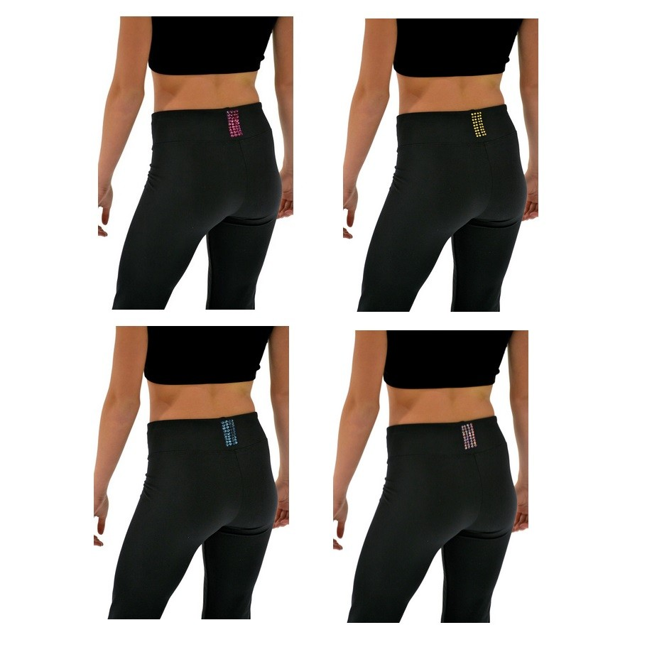 ChloeNoel 3 Waist Skate Pants Crystalling