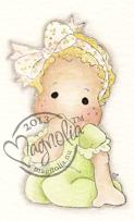 MAGN leimasin Little cute Tilda (Tilda sormi suussa)