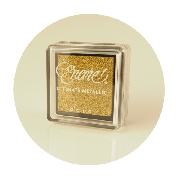 Encore ultimate metallic mini Gold
