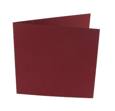 JK neliökorttipohja tummanpun (8276) 13,5x13,5cm, 200mg (10kpl)