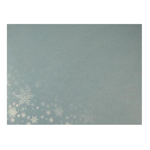 JK C6 kirjekuori lumihiutale 3094 sininen 10kpl