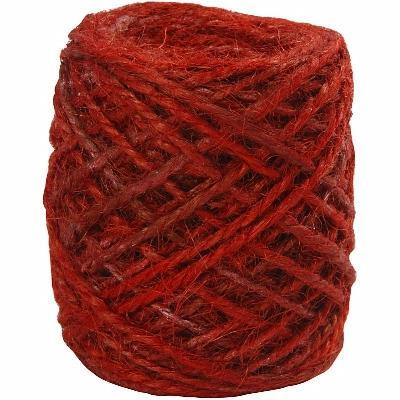 Hamppunaru punainen 1-2mm 30m (50317)