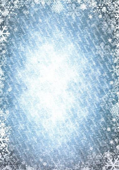 AC248 sininen lumihiutalekartonki A4