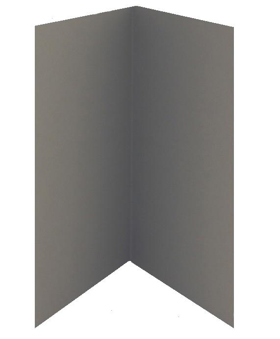 Adressin kannet tummanharmaa 5kpl (suljettuna koko A4)