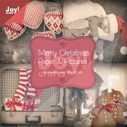 JC korttikuvat Merry Christmas(10x10cm 18 kuvaa)
