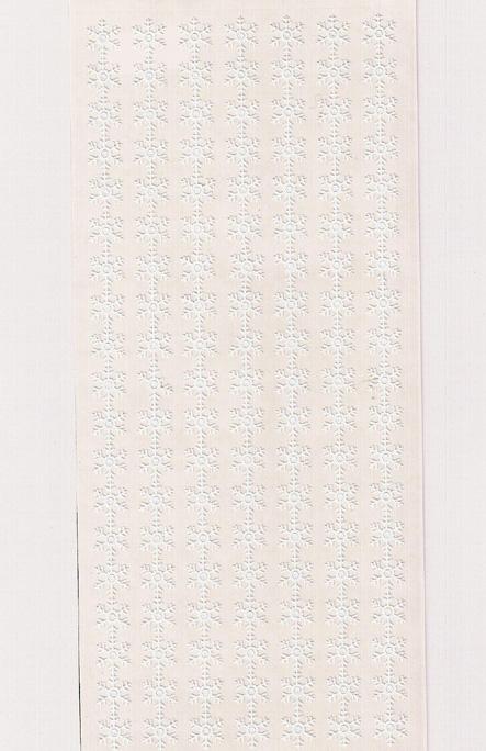 ÄT lumihiutalenauha valkea (7 nauhaaa)