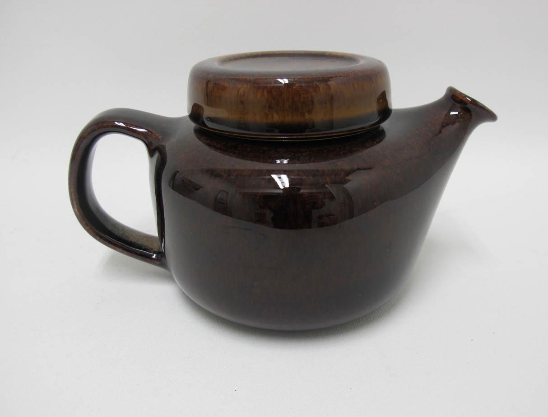Arabia teekannu ruskea