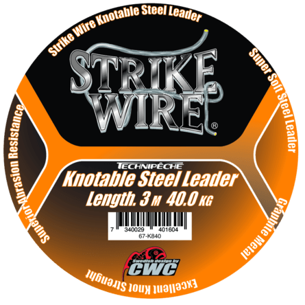 Strike Wire 5m/20kg-perukemateriaali