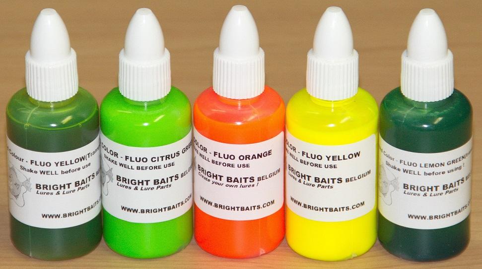 Liquid Plastic Color - Fluorescent - Bubble Gum 35ml