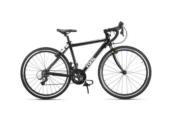 Frog Bikes 58 ROAD musta maantie lastenpyörä 20- rengas. 9- vaihdetta.