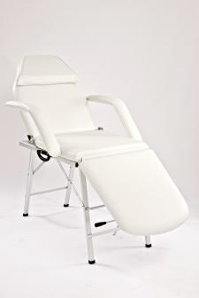 Kannettava kosmetologin tuoli valkoinen