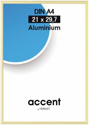 Accent kehys 21x29,7 cm A4 puolikiiltävä kulta