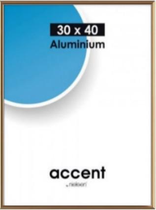 Accent kehys 40x50 cm puolikiiltävä kulta