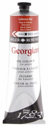 Georgian öljyväri 75ml, 503 Cadmium Red