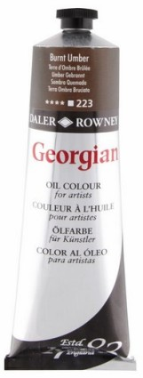 Georgian öljyväri 75ml, 223 Burnt Umber