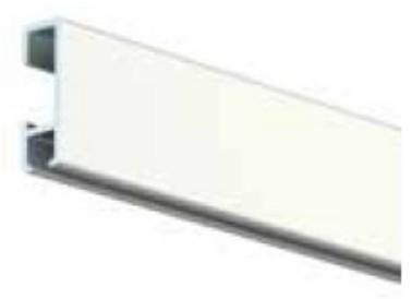 ArtiTeq galleriakisko 2m valkoinen