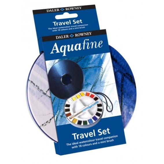 Aquafine Travel Set 18 akvarellivärit