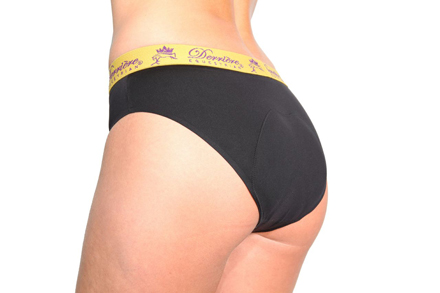 DE Padded Panty, naisten pehmustetut alushousut