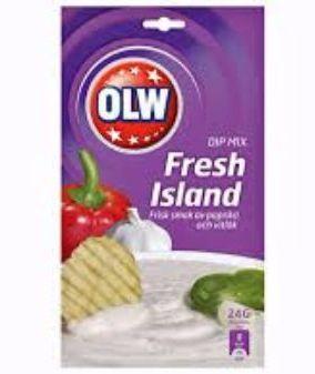 OLW DIP MIX FRESH ISLAND 24G