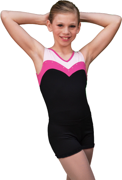 ChloeNoel Skating Shortsit (Black)