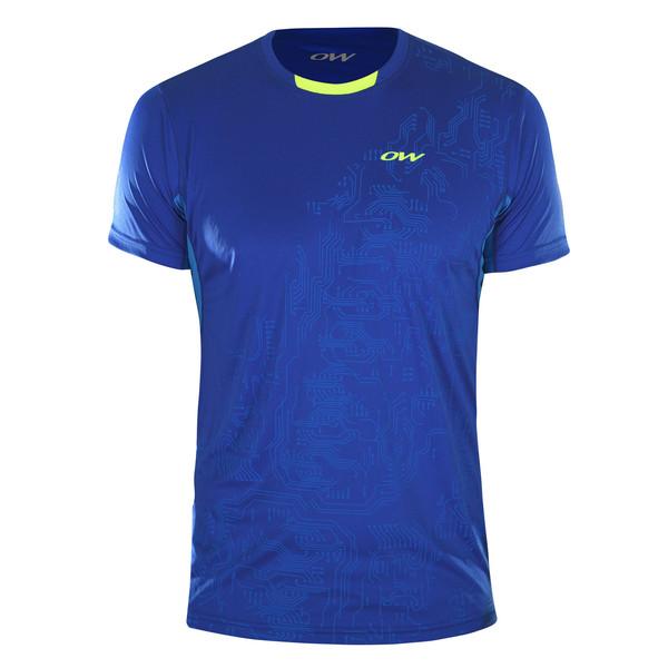 Blade 3 s/s shirt M, blue