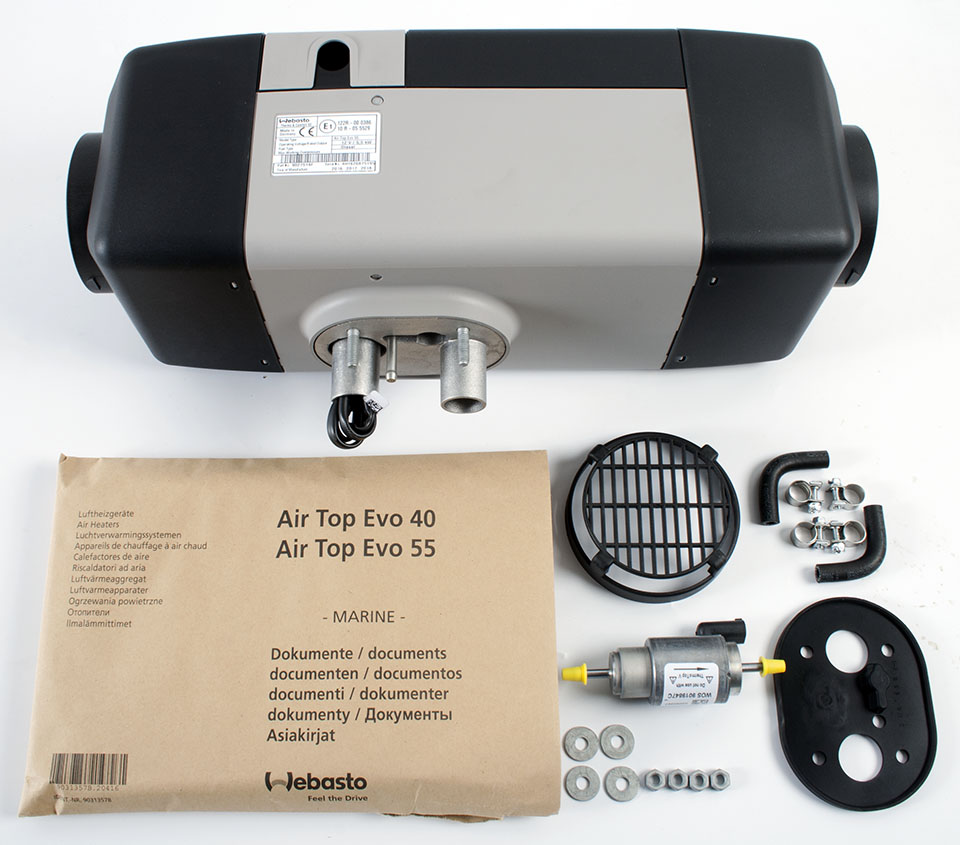 Air Top Evo 40 12V Diesel Marine Basic