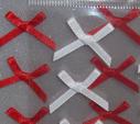 AR rusetit  2cm 10kpl punainen