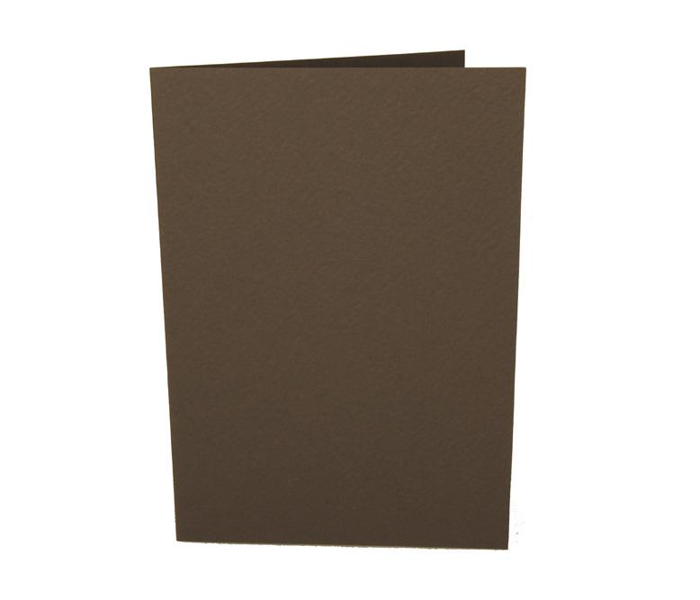 A6 Stucco korttipohja 270mg 5kpl Tummanharm (KP53)