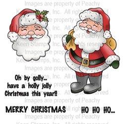 Akryyli joulupukkileimasin