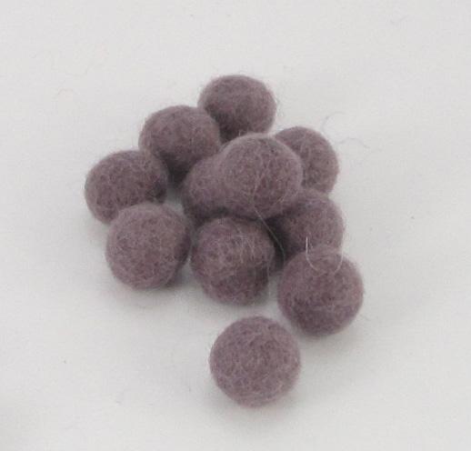 10mm villapallo lila kappaleittain