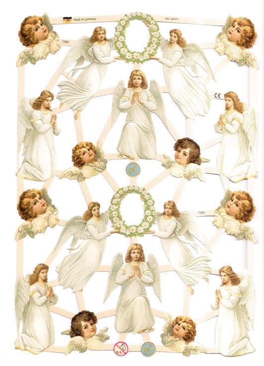 Kiiltokuvat enkeli 7382
