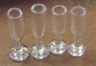 Miniatyyri lasit 21mm 4kpl