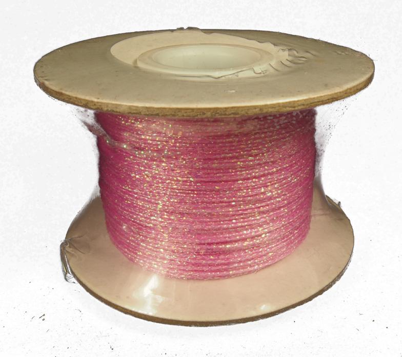 Pinkki iiriskimallenyöri 1mm x100m