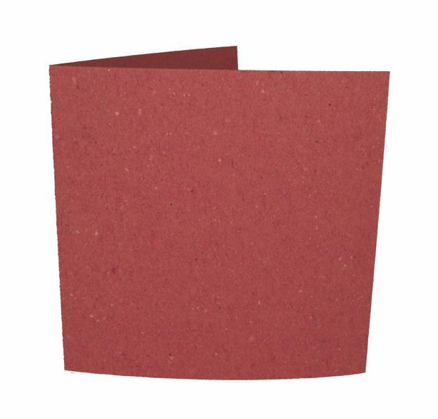 Uusiokorttipohja rosa 20kpl (13,5x13,5cm, vahvuus 250g) II-laatu