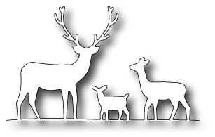 MB stanssi Deer trio 98166 (5,7x9,7cm)