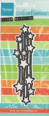 MD stanssi Falling stars CR1294 (korkeus n.12,3cm)