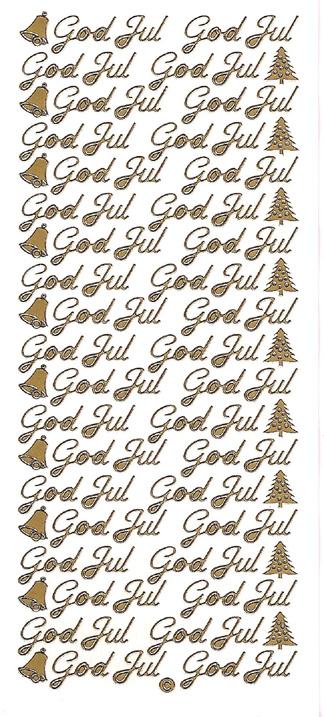 Ät God Jul + kuuset  kulta (38 tekstiä)