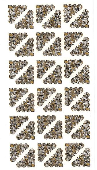 ÄT kulma siro kulta 2x2cm (42kpl)