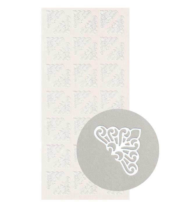 ÄT siro kulma valkea 2x2cm(42kpl)