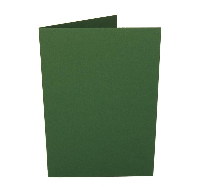 A6 korttipohja tummanvihreä 10kpl (n.225g)