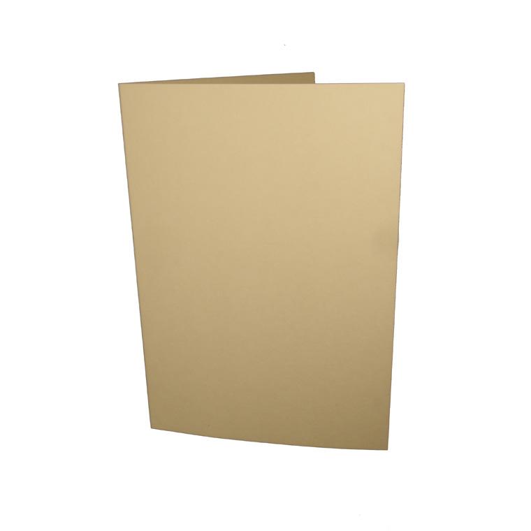 A6 korttipohja vaalea norsunluu 10kpl