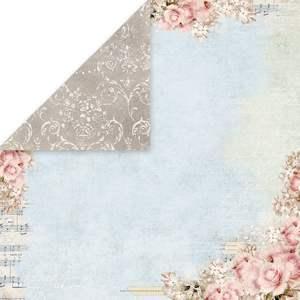 Craft x You Rose garden 05 ruusukartonki 30x30cm