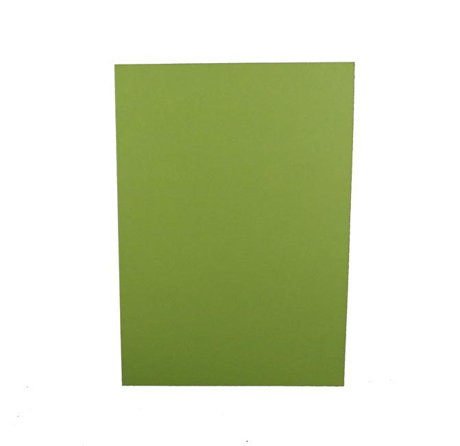 1-osaiset A6 korttipohjat limenvihreä 200g 25kpl