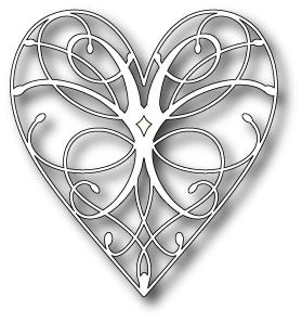 MB stanssi La rue heart 98255 (8.6 x 9.4cm)