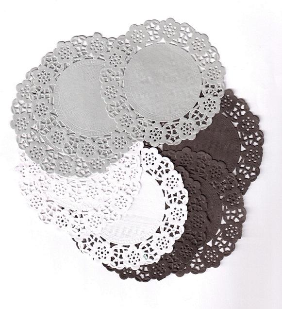 Mini pitsipaperilajitelma mustavalkeat 85mm 30kpl