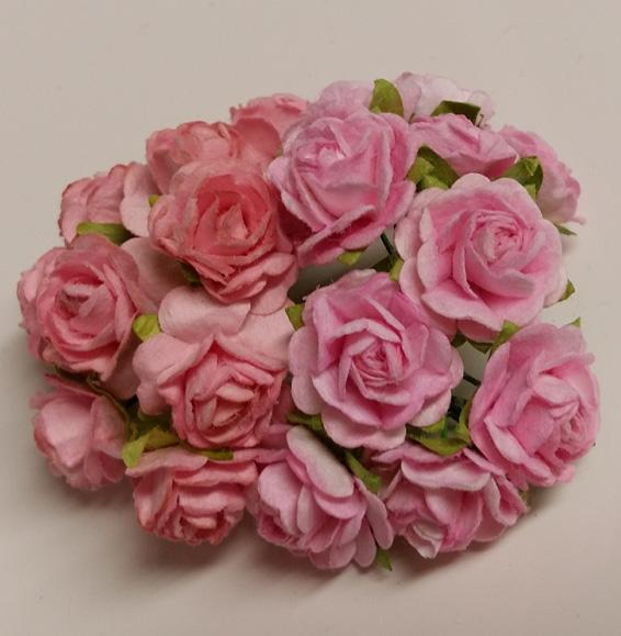 Röyhelöreunaruusut 15mm 20kpl Pinkit