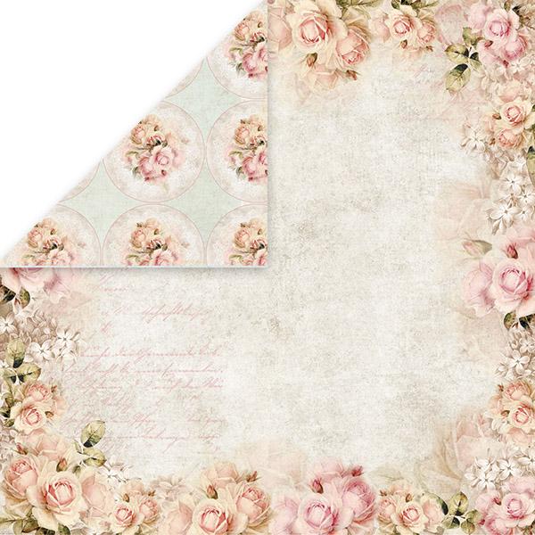 Craft x You design ruusukartonki Rose Garden 06 (30x30cm)