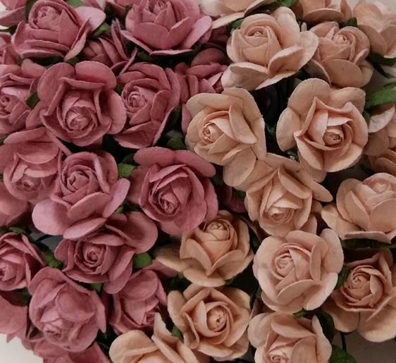Ruusut 2cm rosat 20kpl