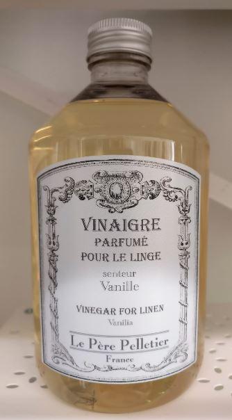 Vanilla - eli aidon vaniljan tuoksuinen pyykkietikka. Jos vanilja kuuluu suosikkeihisi, pidät tästä varmasti! :)