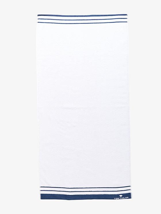White/Navy (valkoinen laivastonsinisin raidoin).